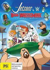 Jetsons & WWE -  Robo-Wrestlemania (DVD, 2017) New & Sealed R4 (D221)
