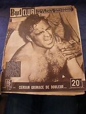 But et Club Boxe Marcel Cerdan N°184 juin 1949 La Motta