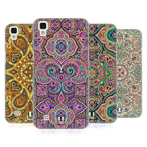 HEAD CASE DESIGNS INTRICATE PAISLEY HARD BACK CASE & WALLPAPER FOR LG PHONES 2