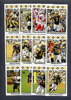 2008 Topps Pittsburgh Steelers TEAM SET (17) Cards - Ben Roethlisberger