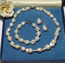 Beautiful Barroque Pearl Jewellery Set