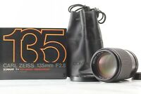 【MINT in Box】Contax Carl Zeiss Sonnar T* 135mm F2.8 AEJ by FedEx From JAPAN A513