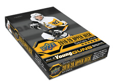 2019-20 UPPER DECK serie 1 Hockey pasatiempo caja (Caja de 12)
