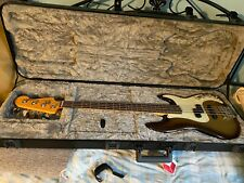 Fender American Ultra Precision Bass Mocha Burst with case Perfect Mint