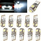 10x T10 194 W5W 5050 5 SMD LED Canbus Error Free Interior Light Lamp Bulb White