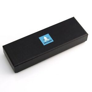 Gift Box with Velvet Cushion and Ribbon Ideal for Pen Presentation 15.5 x 4.5cm