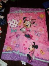 Minnie Mouse Toddler 4Pc Bed Bedding Set Toddler