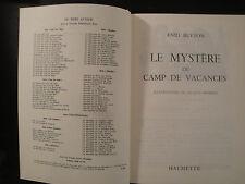 Le Mystère du Camp de Vacances - Enid Blyton - 1969