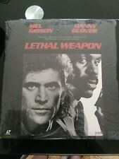 Lethal Weapon LaserDisc LD Widescreen