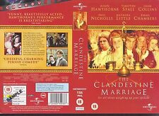 The Clandestine Marriage, Migel Hawthorne Video Promo Sample Sleeve/Cover #10599