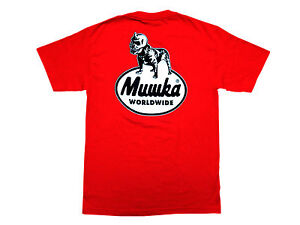 MISHKA BLACK DOG T-SHIRT TEE RED DEATH ADDERS AUTHENTIC - IMPORTED FROM USA