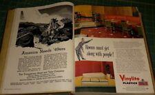 1949 Jan - Dec  Progressive Architecture 12 Issues Bound  Vol 30