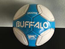 Brand New Buffalo Brand Soft Touch PVC Blue/White Size 5 Shooter Soccer Ball