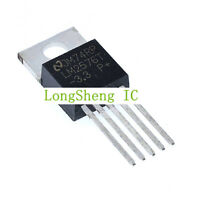 5PCS LM2576T-3.3 LM2576-3.3  TO-220-5  new