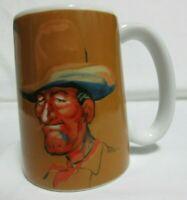 Vintage 1975 KERSTEN BROS. COWBOY with Toothpick Cigarette COFFEE CUP MUG ENESCO
