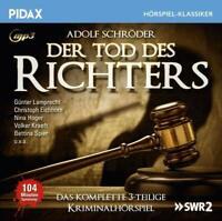 DER TOD DES RICHTERS - SCHROEDER,ADOLF   CD NEW