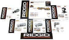 RIDGID 18v 18 VOLT CORDLESS JOBMAX HANDLE BATTERY CHARGER AND 5 HEAD SET KIT