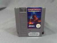 Ironsword Wizards & Warriors II NES Nintendo Entertainment System 1989 W/ Sleeve