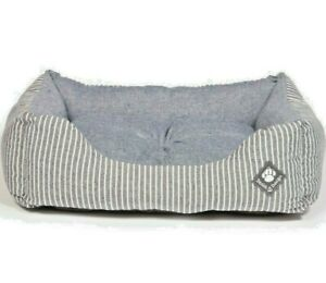"MARITIME SNUGGLE BEDS  - 18"", 23"", 28"" or 34"" inch Danish Design dd Dog Nest Bed"