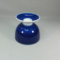 Kpm Berlin - Urbino - Kobaltblau - Kerzenhalter - h: ca. 6,9 cm - Trude Petri