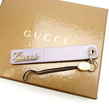 Auth GUCCI mobile phone strap used M1193