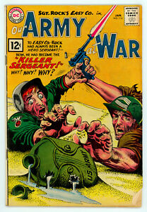 JERRY WEIST ESTATE: OUR ARMY AT WAR #114 (VG) & 141 (DC 1962-64) NO RES