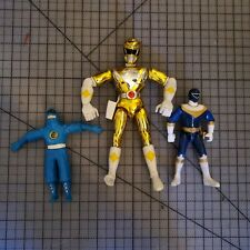 Vintage Bandai 1995 90s Mighty Morphin Power Rangers Figurines Action Figures