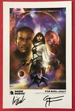Star Wars: Legacy (2013) Signed Mini Print - SDCC Exclusive - Dark Horse Comics