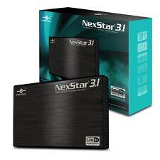 "Vantec NST-270A31-BK 2.5"" SATA 6 Gb/s to USB 3.1 Gen II Type-A SSD/HDD Enclosure"