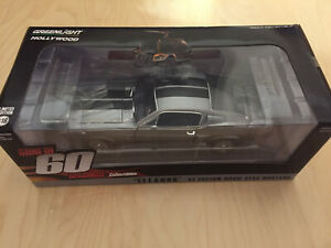 Ford Shelby Mustang GT500 1967 Eleanor 60 seconds Greenlight 1/18