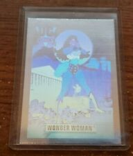 1992 Impel Wonder Woman DC Hologram Hall of Fame Insert Comic Card #DCH9