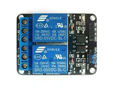 Module de relais 5V (dc,ac) 2 canaux Pour Arduino ou utilisation perso Neuf