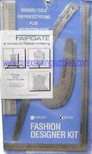 FAIRGATE FASHION DESIGNER'S RULER KIT 15-202 (METRIC)