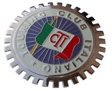 Touring Club Italanio (Italy) car grille badge (Italian)