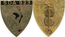 Section de Défense Aérienne 923, BIZERTE, émail, 2 pastilles, Drago 643 (C131)