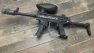Delta Elite Electronic Paintball Gun  + Hopper Rip clip- Auto - Apex - Stock