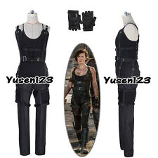 Resident Evil 6: The Final Chapter Alice Black Cosplay Costume Gloves Full Set
