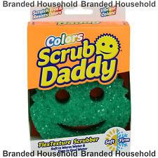 SCRUB DADDY COLORS SCRUBBER AND SPONGE SCRATCH FREE GREEN