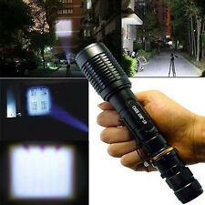 UltraFire 10000 Lumen Zoomable Tactical 5Modes CREE XM-L T6 LED Flashlight Torch