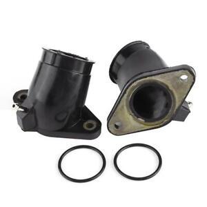 For Yamaha XVS400 XVS650A Motorbike Carb Intake Carburetor Interface Adapters UK
