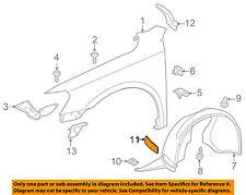 VW VOLKSWAGEN OEM 12-15 Passat Fender-Apron Cover Panel Left 5618059839B9