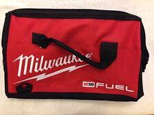 "New Milwaukee Fuel M18 16"" Heavy Duty Contractors Tool Bag 16"" x 10"" x 12"""