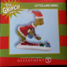 *Little Who Shoes * Dept 56 Dr. Seuss  Grinch  New