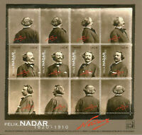 France Art Stamps 2020 MNH Felix Nadar Photography French Photographer 4v M/S