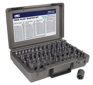 OTC 53pc  Master Torx, Plus, E-Torx & Tamper Proof S2 Bit Socket Set #5900A-PLUS