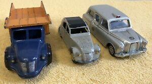 Lot Jouet ancien DINKY TOYS MECCANO Berliet Citroën Austin Taxi en l'état