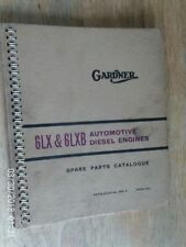 WORKS PARTS CATALOGUE FOR THE 6LX AND  6LXB ENGINES  1969