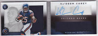 2014 Panini Playbook #163 Ka'Deem Carey RC Auto Jersey /299