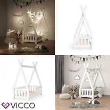 VICCO TIPI Indian Lit Bébé en Bois 70x140cm - Blanc (1-3TK-24318)