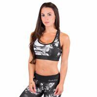 Gorilla Wear Women Pueblo Sports Bra Black//White-SALE